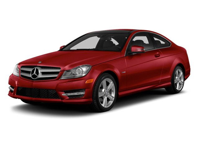 Mars Red 2013 Mercedes-Benz C-Class Pictures C-Class Coupe 2D C250 photos front view