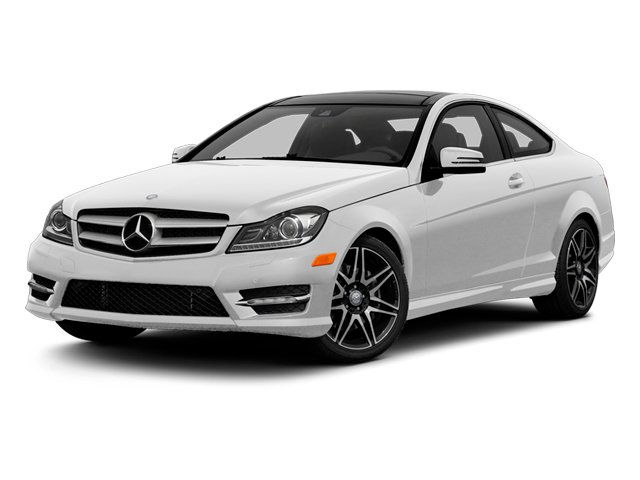 Polar White 2013 Mercedes-Benz C-Class Pictures C-Class Coupe 2D C350 AWD photos front view