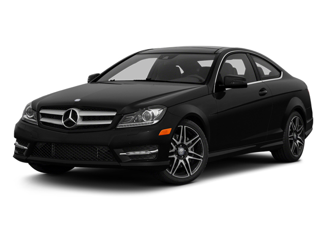 Magnetite Black Metallic 2013 Mercedes-Benz C-Class Pictures C-Class Coupe 2D C350 AWD photos front view
