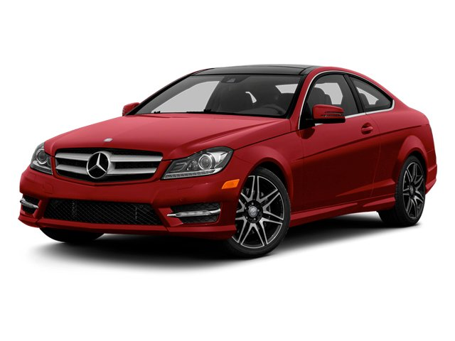Mars Red 2013 Mercedes-Benz C-Class Pictures C-Class Coupe 2D C350 AWD photos front view