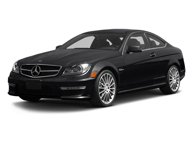 Steel Grey Metallic 2013 Mercedes-Benz C-Class Pictures C-Class Coupe 2D C63 AMG photos front view
