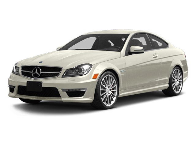 Diamond White Metallic 2013 Mercedes-Benz C-Class Pictures C-Class Coupe 2D C63 AMG photos front view