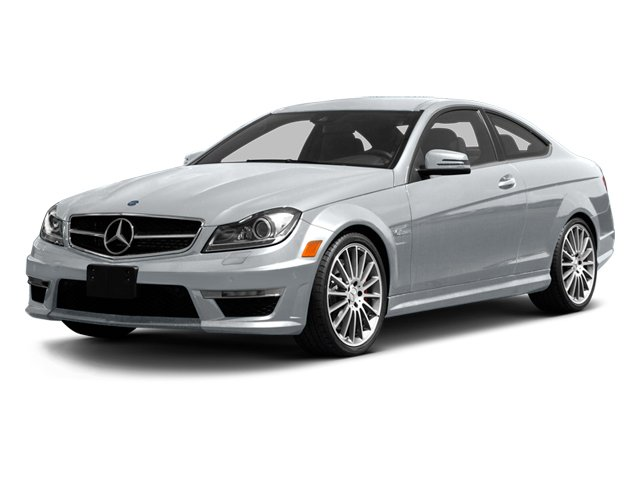 Diamond Silver Metallic 2013 Mercedes-Benz C-Class Pictures C-Class Coupe 2D C63 AMG photos front view