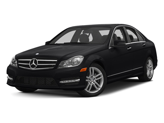 Black 2013 Mercedes-Benz C-Class Pictures C-Class Sedan 4D C250 photos front view