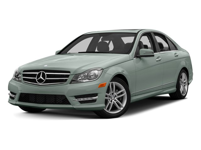 Sapphire Grey Metallic 2013 Mercedes-Benz C-Class Pictures C-Class Sedan 4D C250 photos front view