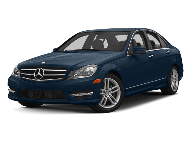 Lunar Blue Metallic 2013 Mercedes-Benz C-Class Pictures C-Class Sedan 4D C250 photos front view