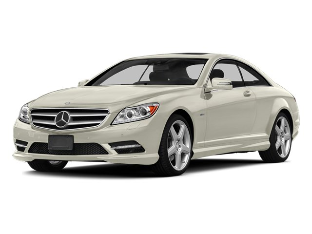 Diamond White Metallic 2013 Mercedes-Benz CL-Class Pictures CL-Class Coupe 2D CL600 photos front view