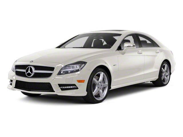Diamond White Metallic 2013 Mercedes-Benz CLS-Class Pictures CLS-Class Sedan 4D CLS550 AWD photos front view