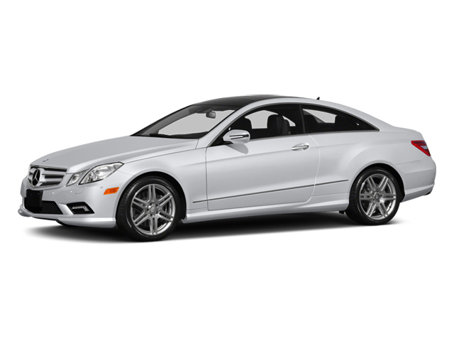 Polar White 2013 Mercedes-Benz E-Class Pictures E-Class Coupe 2D E550 photos front view