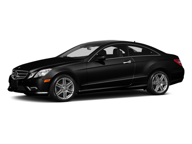 Obsidian Black Metallic 2013 Mercedes-Benz E-Class Pictures E-Class Coupe 2D E550 photos front view