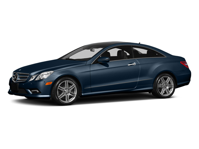 Lunar Blue Metallic 2013 Mercedes-Benz E-Class Pictures E-Class Coupe 2D E550 photos front view