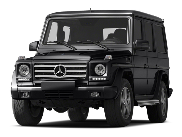 Black 2013 Mercedes-Benz G-Class Pictures G-Class 4 Door Utility 4Matic photos front view