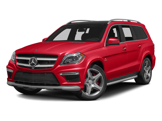 Cinnabar Red Metallic 2013 Mercedes-Benz GL-Class Pictures GL-Class Utility 4D GL63 AMG 4WD photos front view
