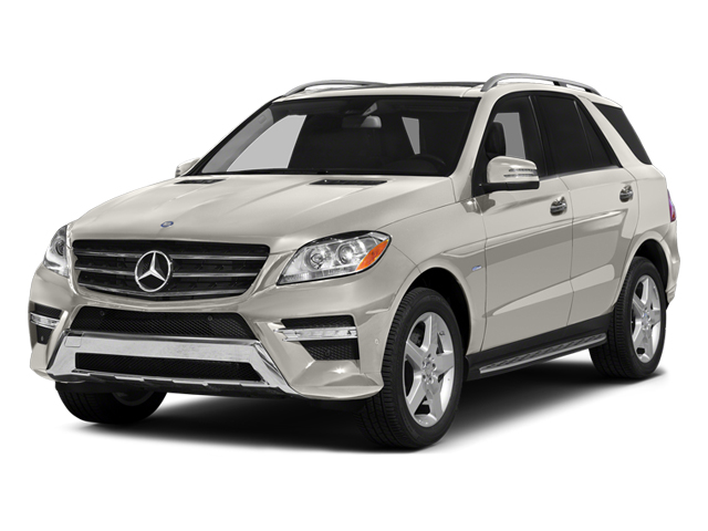 Arctic White 2013 Mercedes-Benz M-Class Pictures M-Class Utility 4D ML550 AWD photos front view