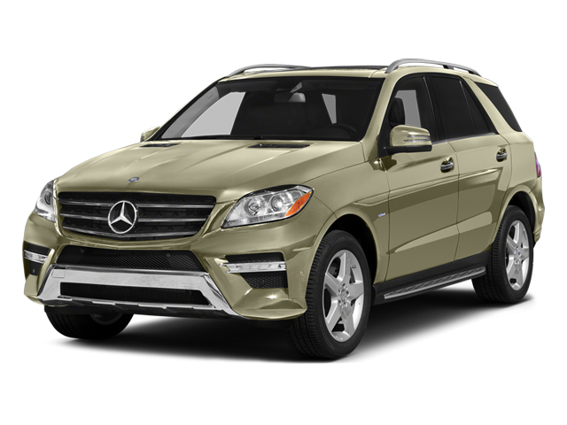 Pearl Beige Metallic 2013 Mercedes-Benz M-Class Pictures M-Class Utility 4D ML550 AWD photos front view