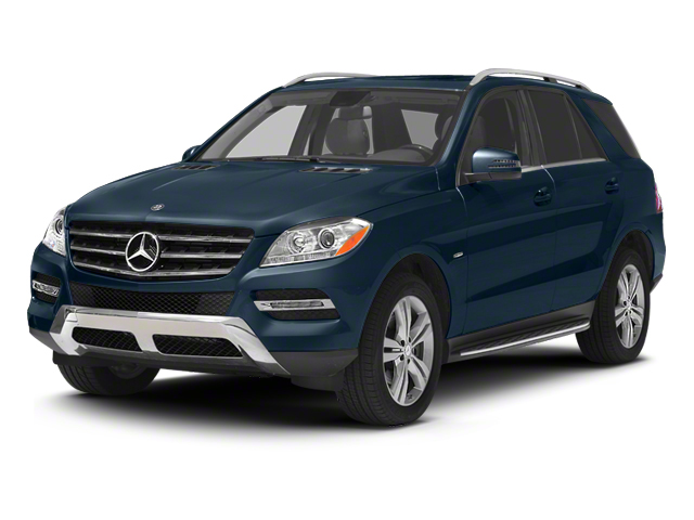 Lunar Blue Metallic 2013 Mercedes-Benz M-Class Pictures M-Class Utility 4D ML350 BlueTEC AWD photos front view