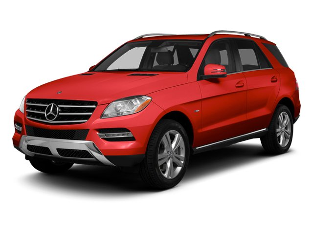 Cinnabar Red Metallic 2013 Mercedes-Benz M-Class Pictures M-Class Utility 4D ML350 2WD photos front view