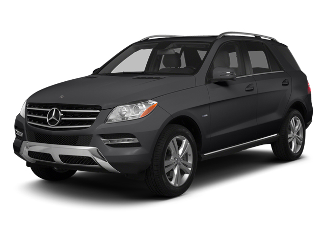 Steel Grey Metallic 2013 Mercedes-Benz M-Class Pictures M-Class Utility 4D ML350 AWD photos front view