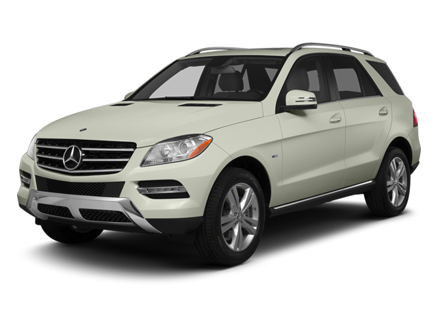 Iridium Silver Metallic 2013 Mercedes-Benz M-Class Pictures M-Class Utility 4D ML350 2WD photos front view
