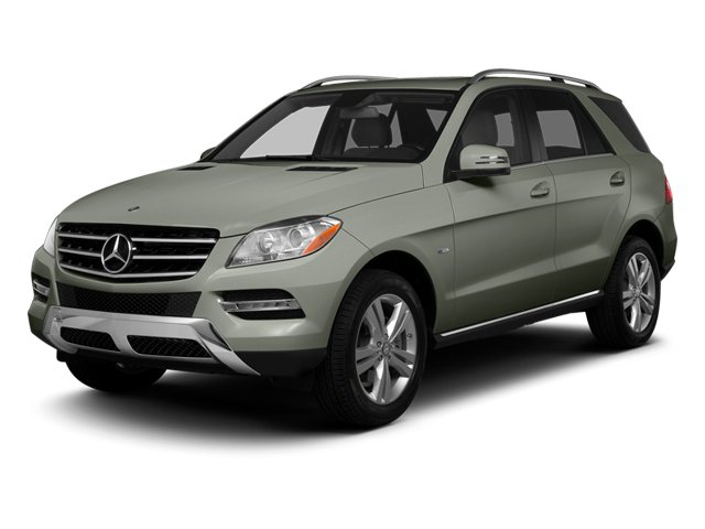 Palladium Silver Metallic 2013 Mercedes-Benz M-Class Pictures M-Class Utility 4D ML350 2WD photos front view