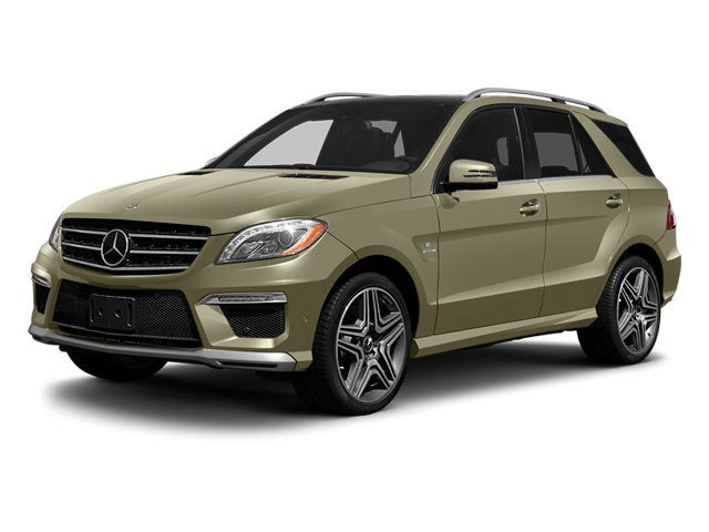Pearl Beige Metallic 2013 Mercedes-Benz M-Class Pictures M-Class Utility 4D ML63 AMG AWD photos front view