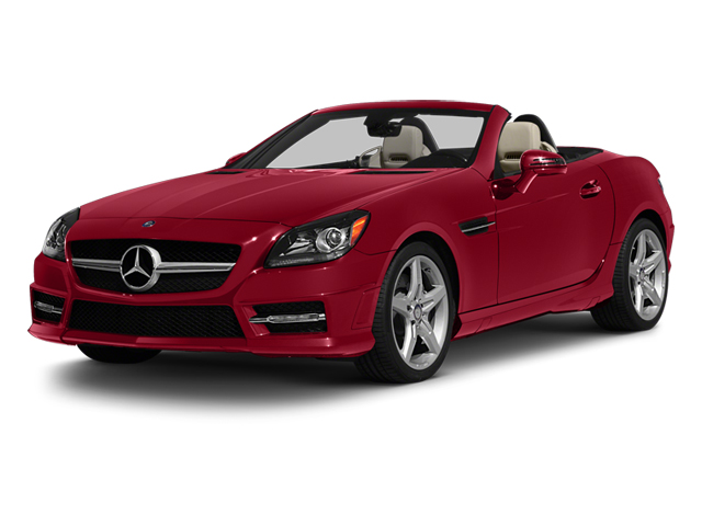 Mars Red 2013 Mercedes-Benz SLK-Class Pictures SLK-Class Roadster 2D SLK55 AMG photos front view
