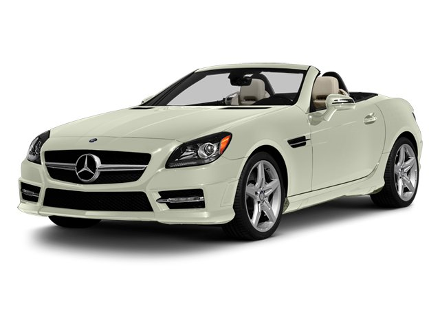 Arctic White 2013 Mercedes-Benz SLK-Class Pictures SLK-Class Roadster 2D SLK55 AMG photos front view