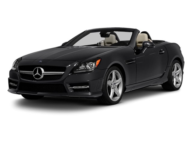Steel Grey Metallic 2013 Mercedes-Benz SLK-Class Pictures SLK-Class Roadster 2D SLK350 photos front view