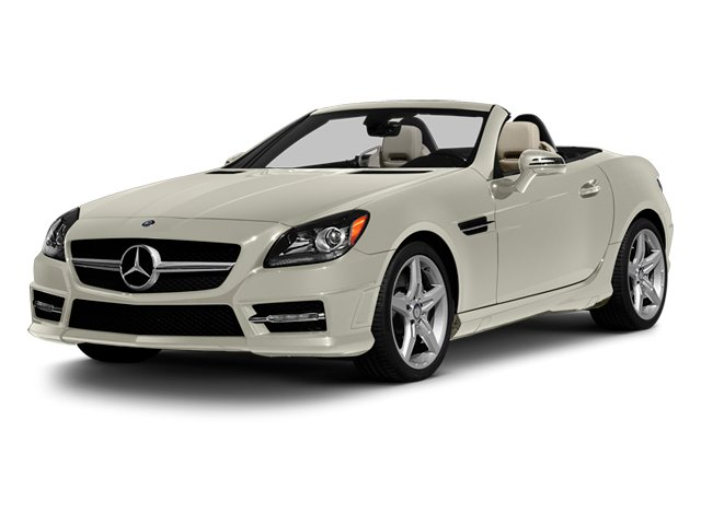 Diamond White Metallic 2013 Mercedes-Benz SLK-Class Pictures SLK-Class Roadster 2D SLK55 AMG photos front view