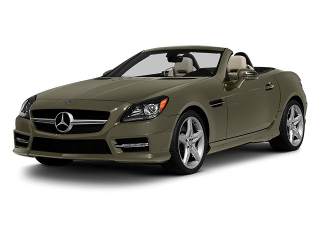 Indium Grey Metallic 2013 Mercedes-Benz SLK-Class Pictures SLK-Class Roadster 2D SLK350 photos front view