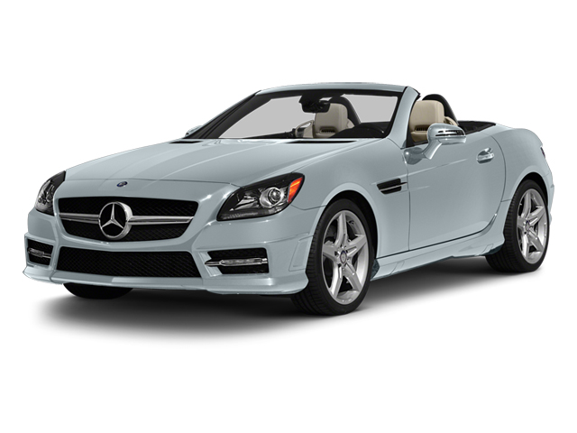 Silver Mist Metallic 2013 Mercedes-Benz SLK-Class Pictures SLK-Class Roadster 2D SLK55 AMG photos front view