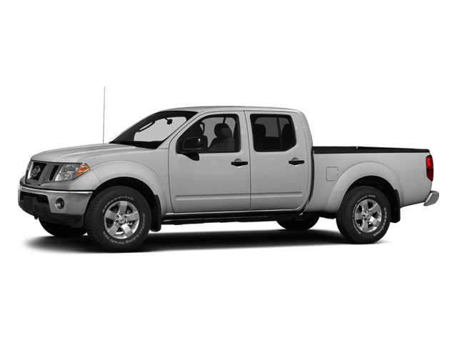 Brilliant Silver 2013 Nissan Frontier Pictures Frontier Crew Cab S 4WD photos front view