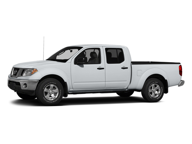 Glacier White 2013 Nissan Frontier Pictures Frontier Crew Cab S 4WD photos front view