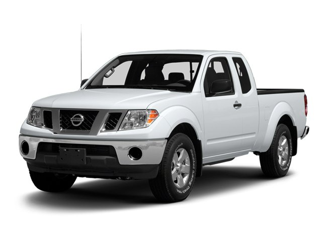 Glacier White 2013 Nissan Frontier Pictures Frontier King Cab SV 2WD photos front view