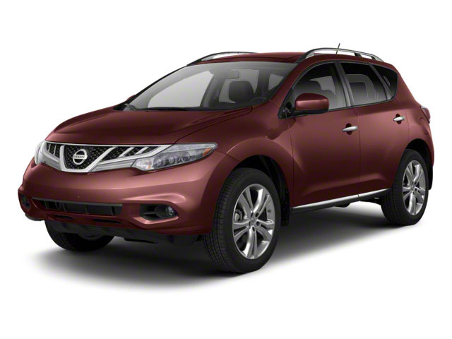 Midnight Garnet 2013 Nissan Murano Pictures Murano Utility 4D SL 2WD V6 photos front view