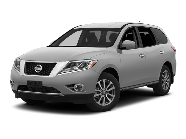 Brilliant Silver 2013 Nissan Pathfinder Pictures Pathfinder Utility 4D SL 2WD photos front view