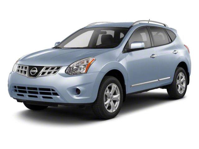 Frosted Steel 2013 Nissan Rogue Pictures Rogue Utility 4D S 2WD I4 photos front view