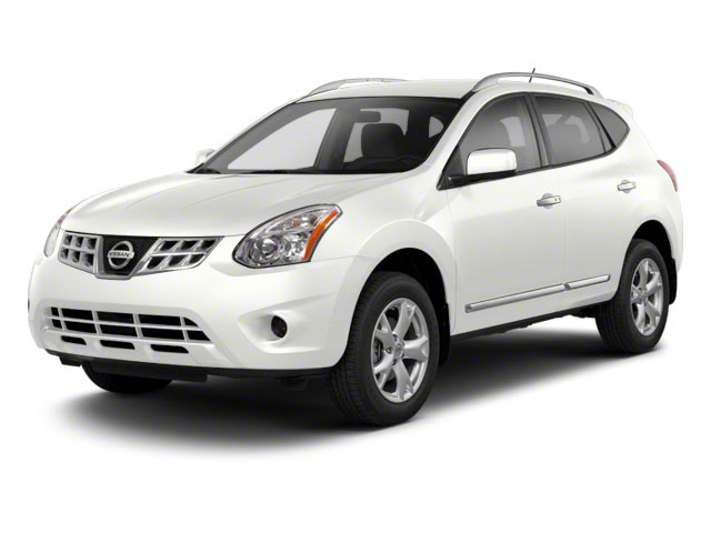 Pearl White 2013 Nissan Rogue Pictures Rogue Utility 4D S 2WD I4 photos front view