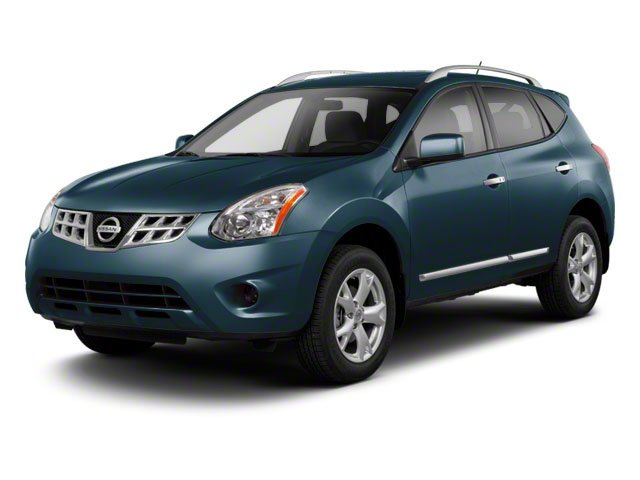 Graphite Blue 2013 Nissan Rogue Pictures Rogue Utility 4D S 2WD I4 photos front view