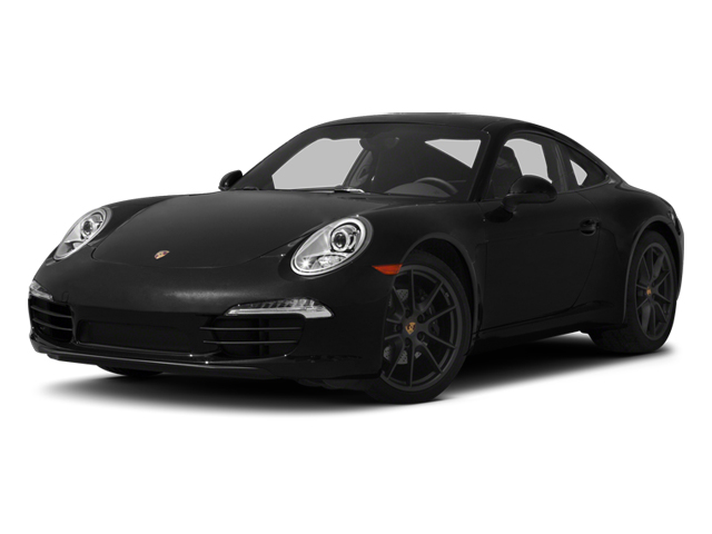 Black 2013 Porsche 911 Pictures 911 Coupe 2D H6 photos front view