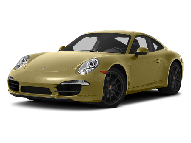 Lime Gold Metallic 2013 Porsche 911 Pictures 911 Coupe 2D H6 photos front view