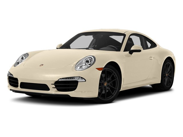 Cream White 2013 Porsche 911 Pictures 911 Coupe 2D H6 photos front view