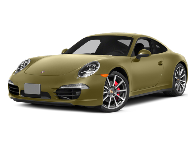 Lime Gold Metallic 2013 Porsche 911 Pictures 911 Coupe 2D 4 AWD H6 photos front view