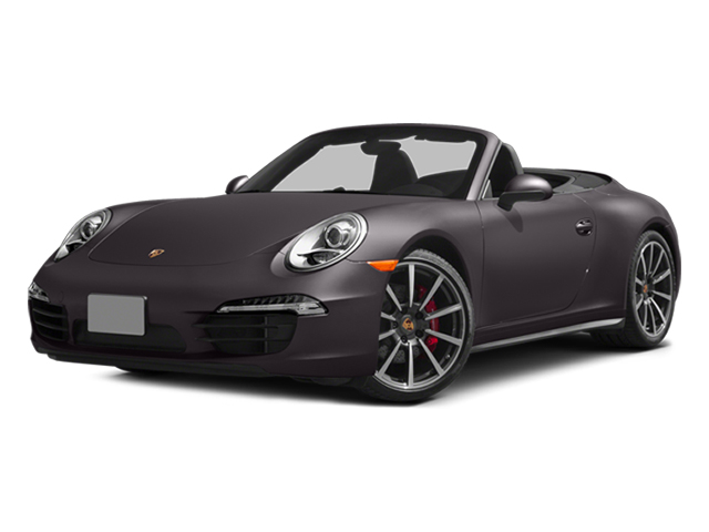 Anthracite Brown Metallic 2013 Porsche 911 Pictures 911 Cabriolet 2D 4S AWD H6 photos front view