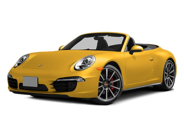Racing Yellow 2013 Porsche 911 Pictures 911 Cabriolet 2D 4S AWD H6 photos front view