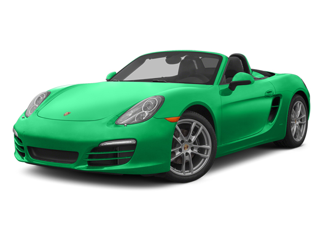 Emerald Green Metallic 2013 Porsche Boxster Pictures Boxster Roadster 2D photos front view