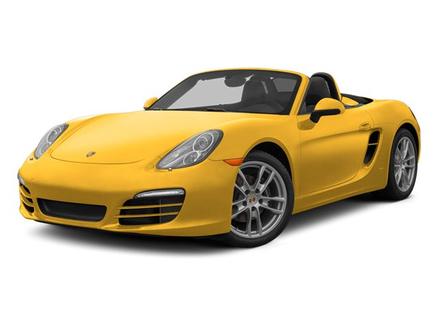Racing Yellow 2013 Porsche Boxster Pictures Boxster Roadster 2D photos front view
