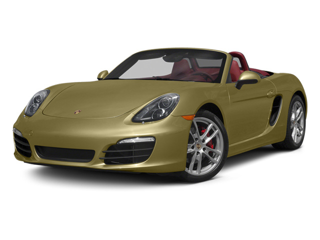 Lime Gold Metallic 2013 Porsche Boxster Pictures Boxster Roadster 2D S photos front view