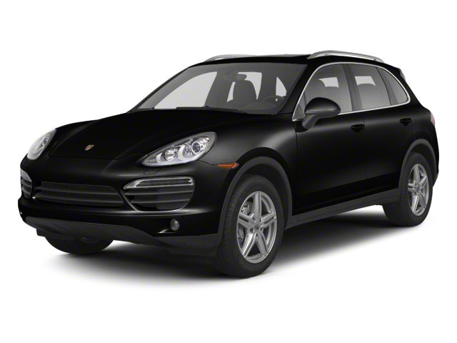 Jet Black Metallic 2013 Porsche Cayenne Pictures Cayenne Utility 4D S AWD (V8) photos front view