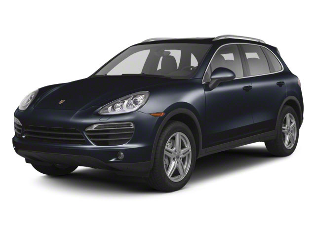 Dark Blue Metallic 2013 Porsche Cayenne Pictures Cayenne Utility 4D S AWD (V8) photos front view